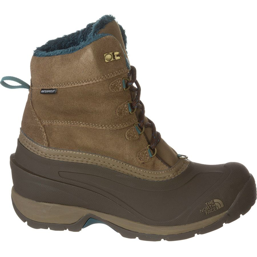 The North Face - Chilkat III Boot - Women's - Cub Brown/Mediterranea Green