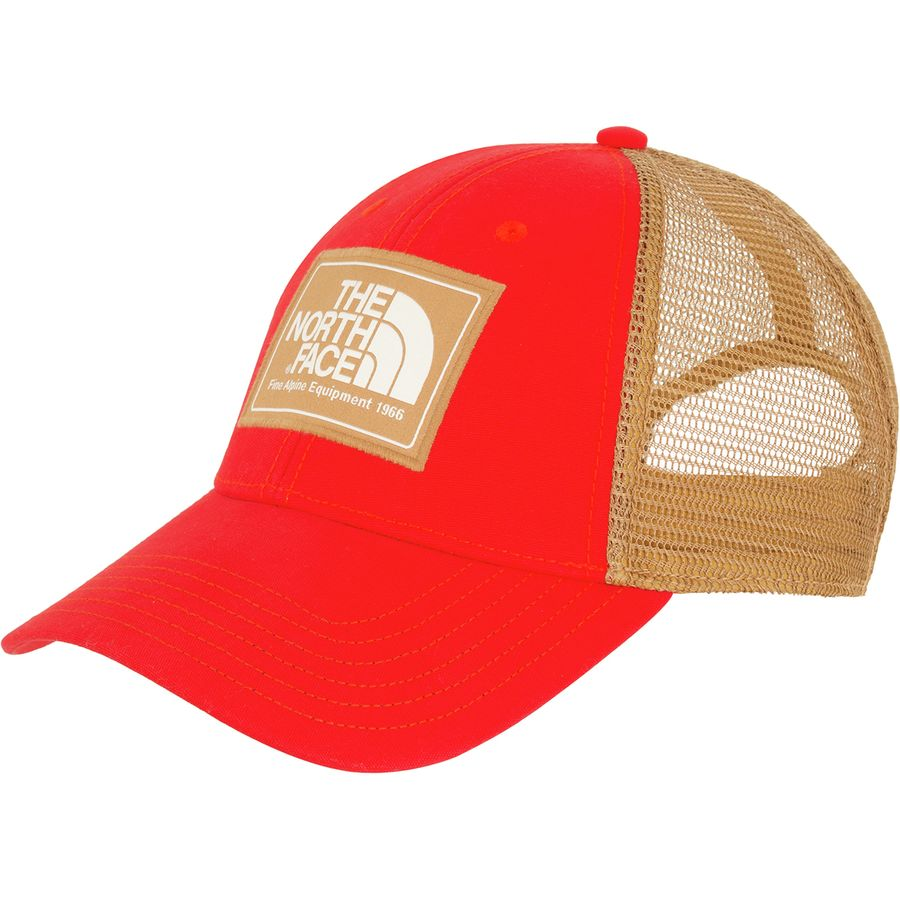 The North Face - Mudder Trucker Hat - Men s - Fiery Red Vintage White f9e636a9a69