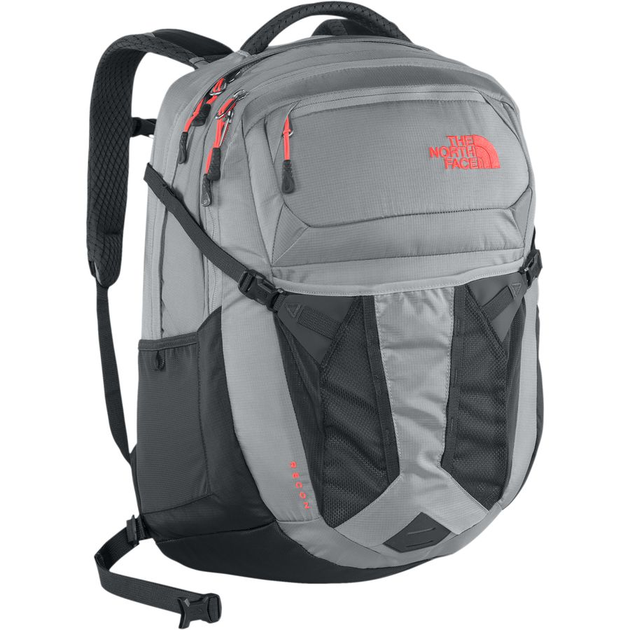 cfc4b686b The North Face Recon Backpack Tnf Red Asphalt Grey - CEAGESP