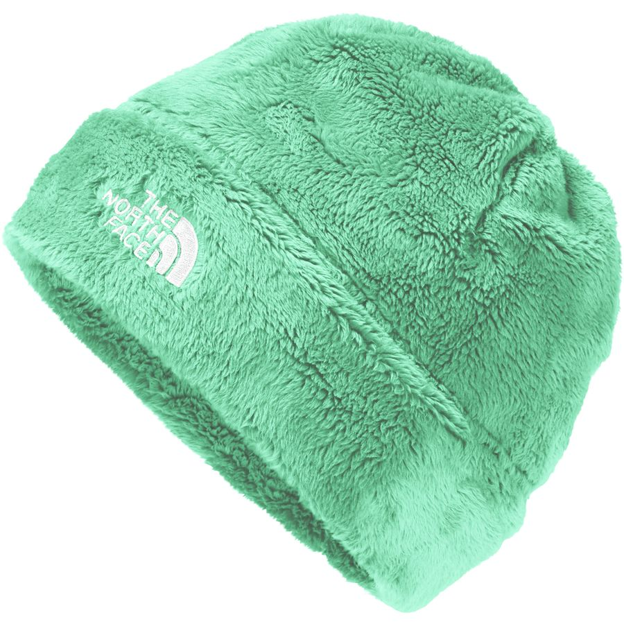 1b38b159e89 The North Face - Denali Thermal Beanie - Girls  - Bermuda Green Tnf White