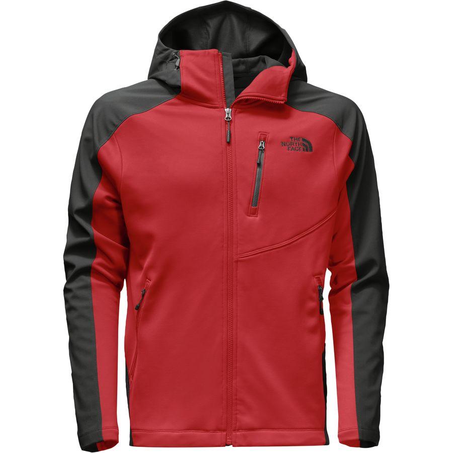 The North Face Tenacious Hybrid Hooded Fleece Jacket - Mens
