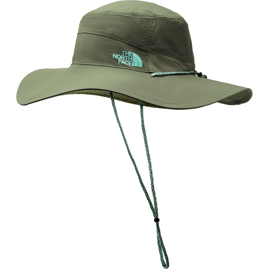 d809c5038f4 The North Face - Horizon Brimmer Hat - Women s - Four Leaf Clover Mint Blue