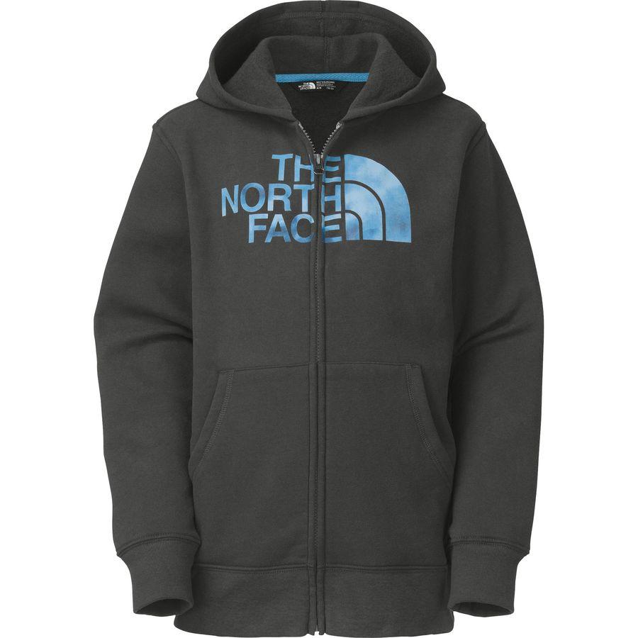 5408d2f16 The North Face Logowear Full-Zip Hoodie - Boys'