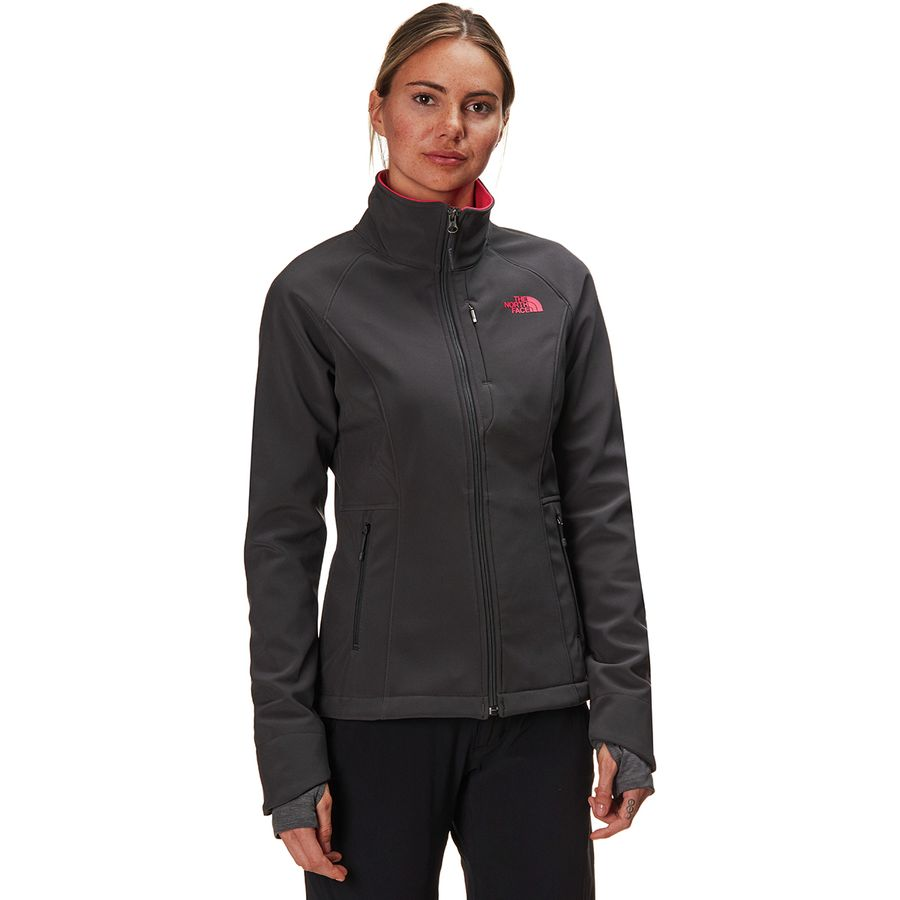 5278404673 The North Face - Apex Bionic 2 Softshell Jacket - Women s - Asphalt  Grey Atomic