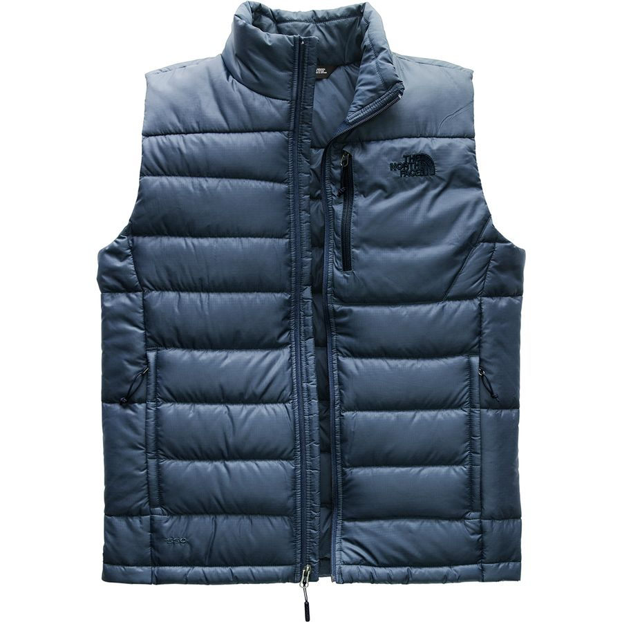 The North Face - Aconcagua Down Vest - Men s - Shady Blue dc473c260