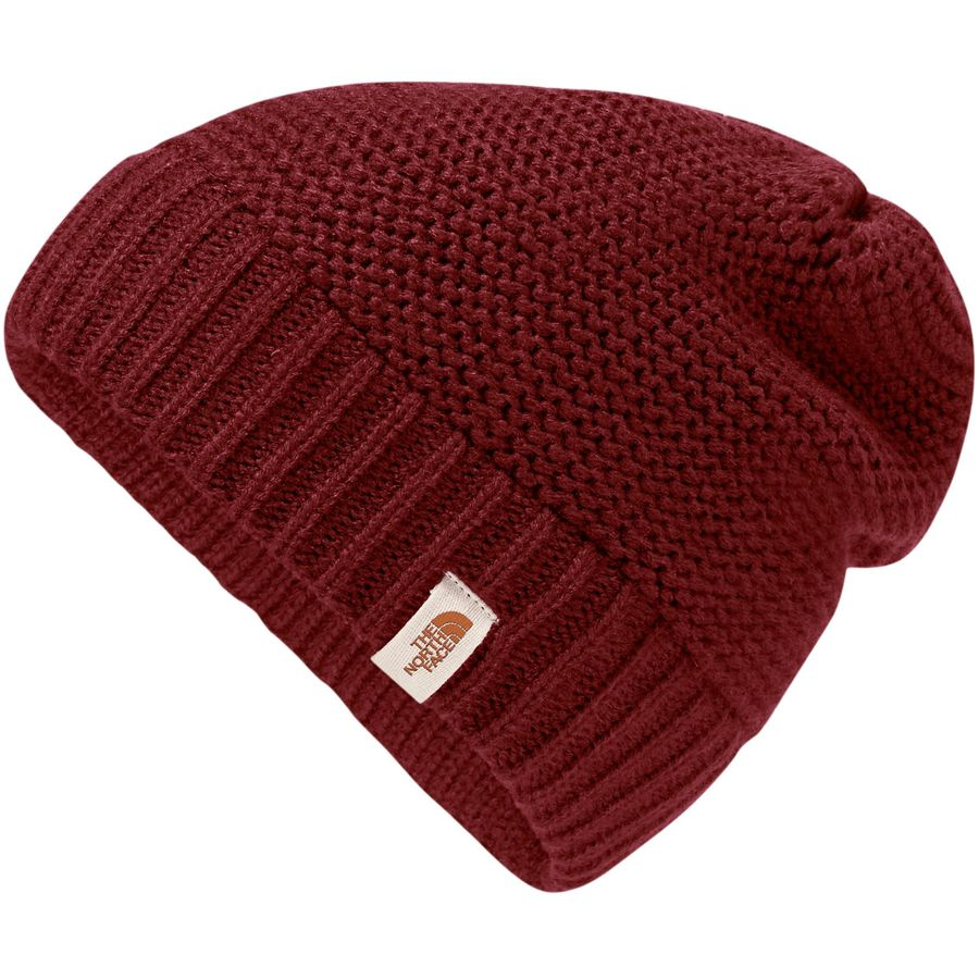 The North Face - Purrl Stitch Beanie - Women's - Barolo Red