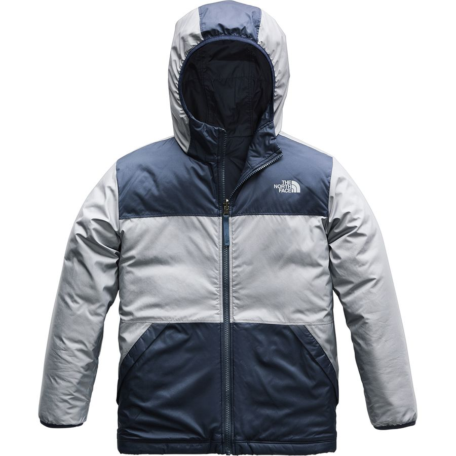 9eadbda8aa The North Face - True or False Reversible Fleece Jacket - Boys  - Shady Blue