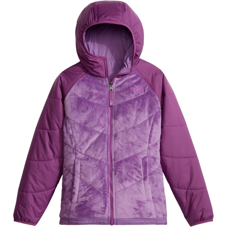 The North Face Perseus Reversible Hooded Fleece Jacket Girls