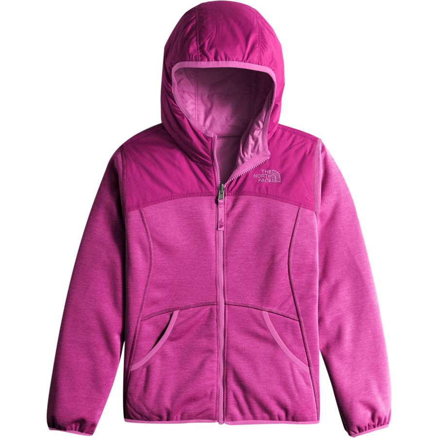 The North Face Haldee Reversible Fleece Hooded Jacket
