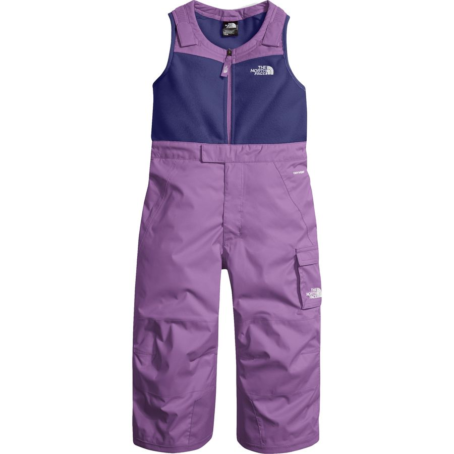 a398a057c The North Face Insulated Bib Pant - Toddler Girls'