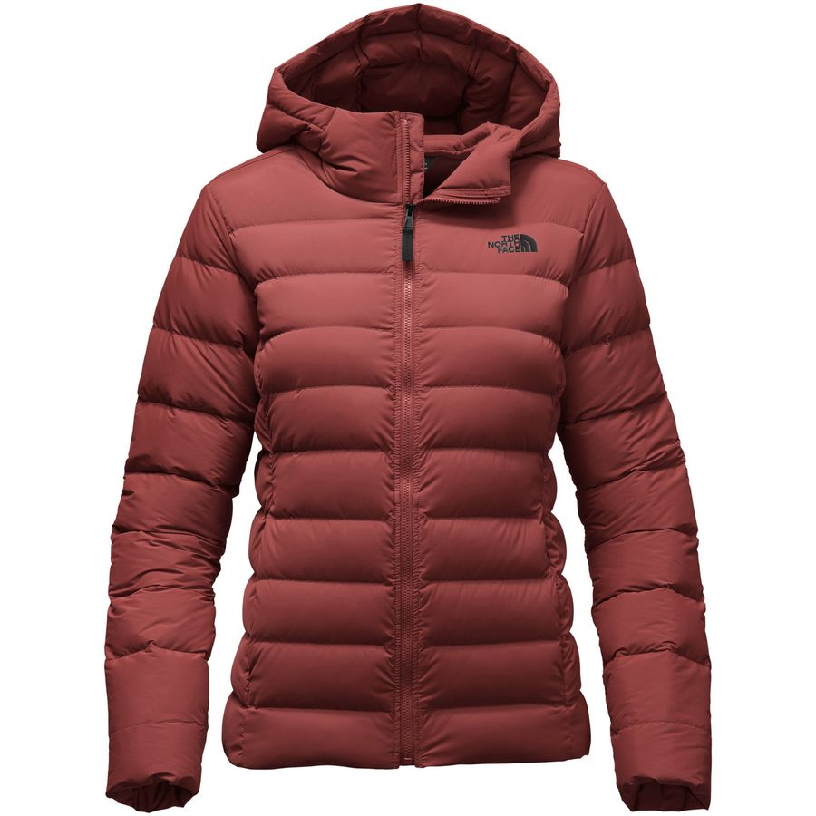 The North Face Stretch Down Hooded Jacket - Womens