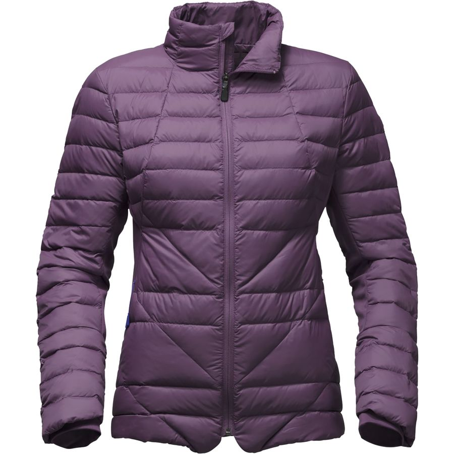 North face purple down jacket