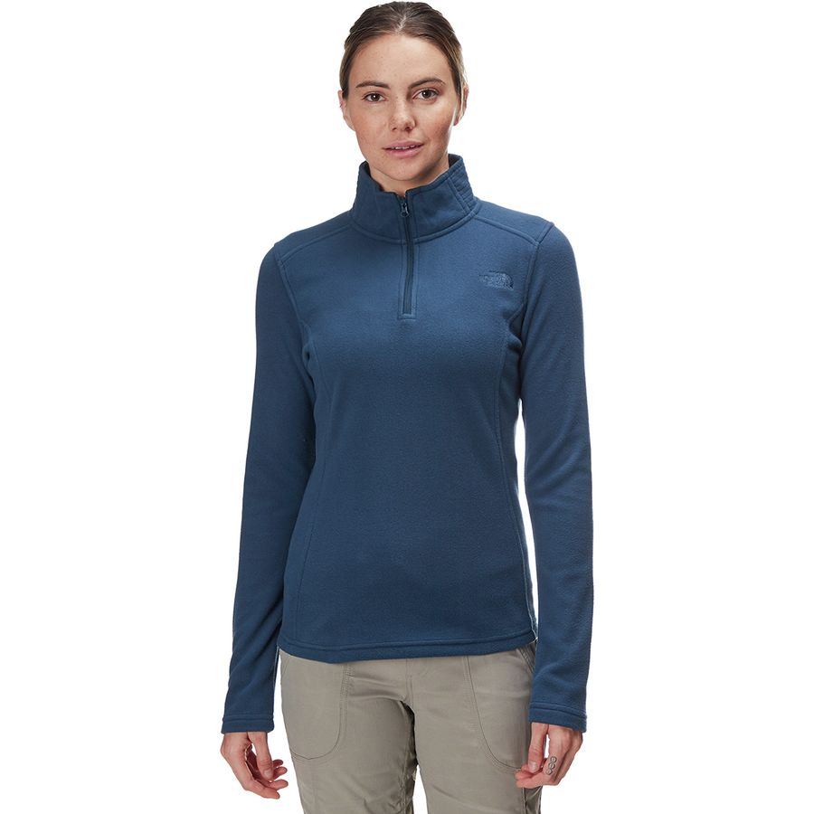 1b95cfd70 The North Face - Glacier 1/4-Zip Fleece Pullover - Women's - Blue