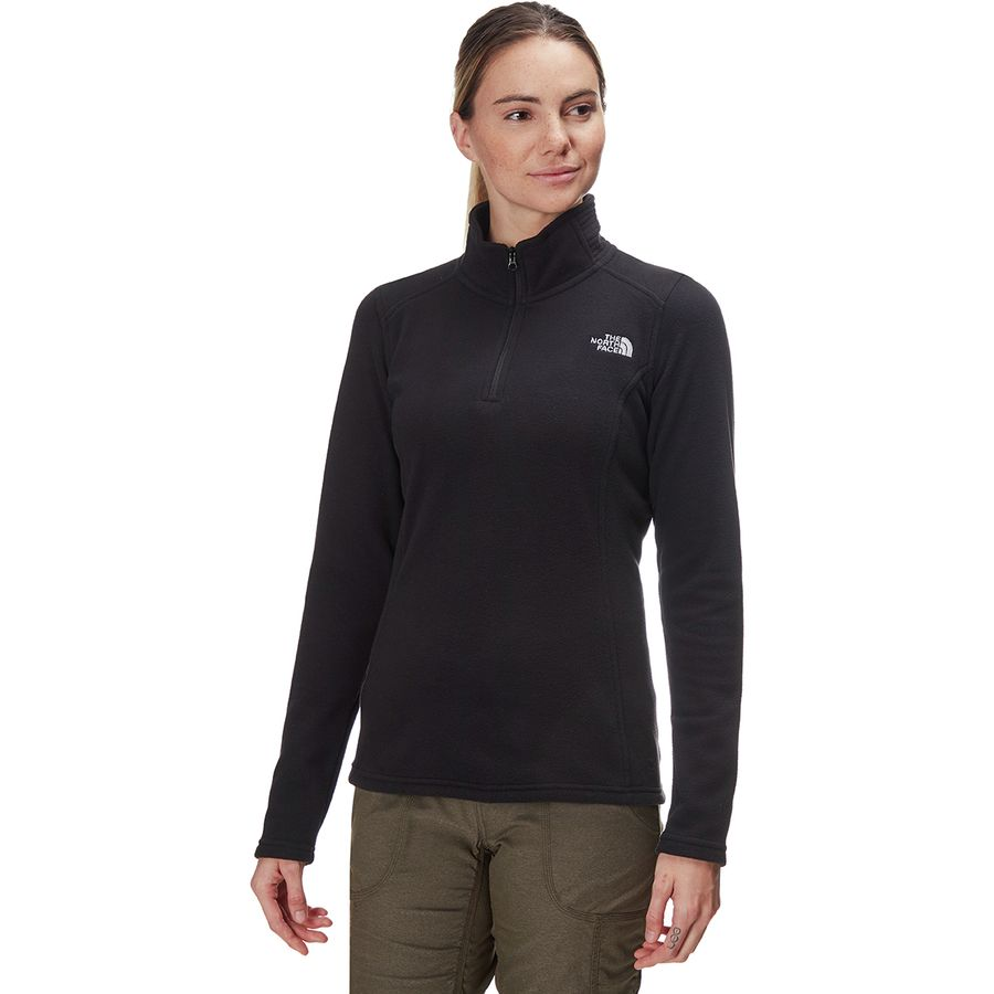 The North Face Glacier 1/4-Zip Fleece Pullover - Women's ...