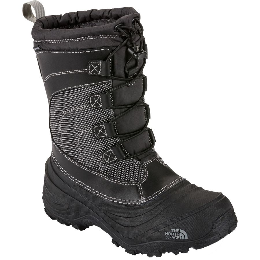 0a3db3e0a9 The North Face - Alpenglow IV Lace Boot - Boys  - Tnf Black Tnf