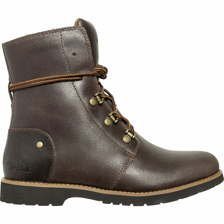 The North Face - Ballard Lace II Boot - Women's - Coffee Bean Brown/Caper