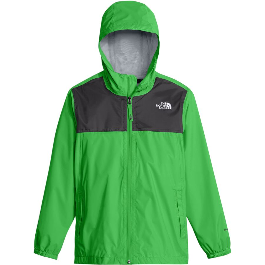 The North Face - Zipline Rain Jacket - Boys' - Classic Green