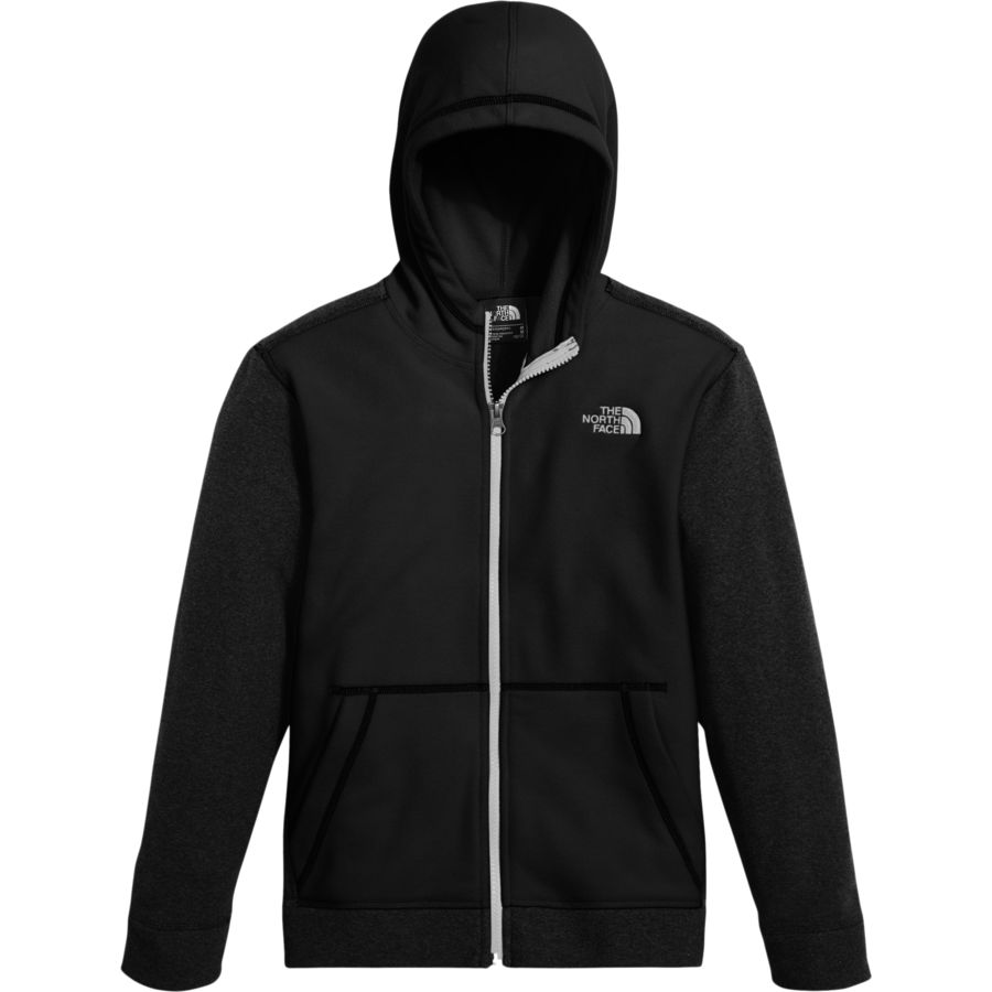 TNF The North Face Fleece Glacier Hoodie Jacket Baby Toddler Red Black