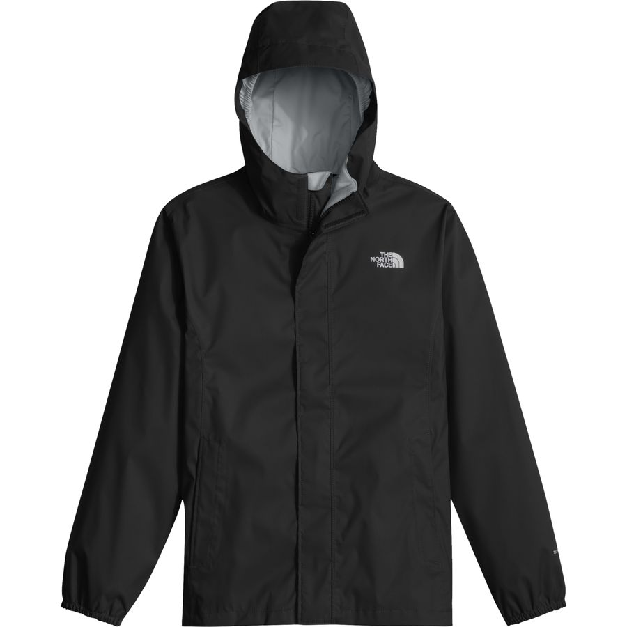 The North Face - Resolve Reflective Hooded Jacket - Girls' - Tnf Black