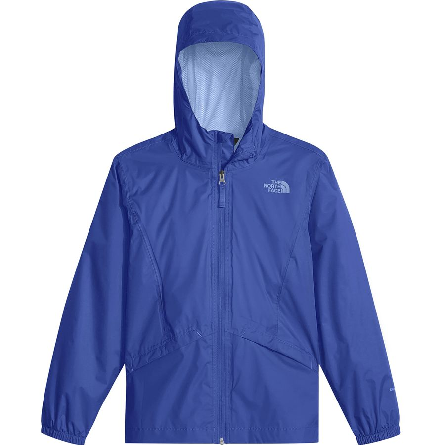 7881005e6995 The North Face - Zipline Rain Jacket - Girls  - Dazzling Blue