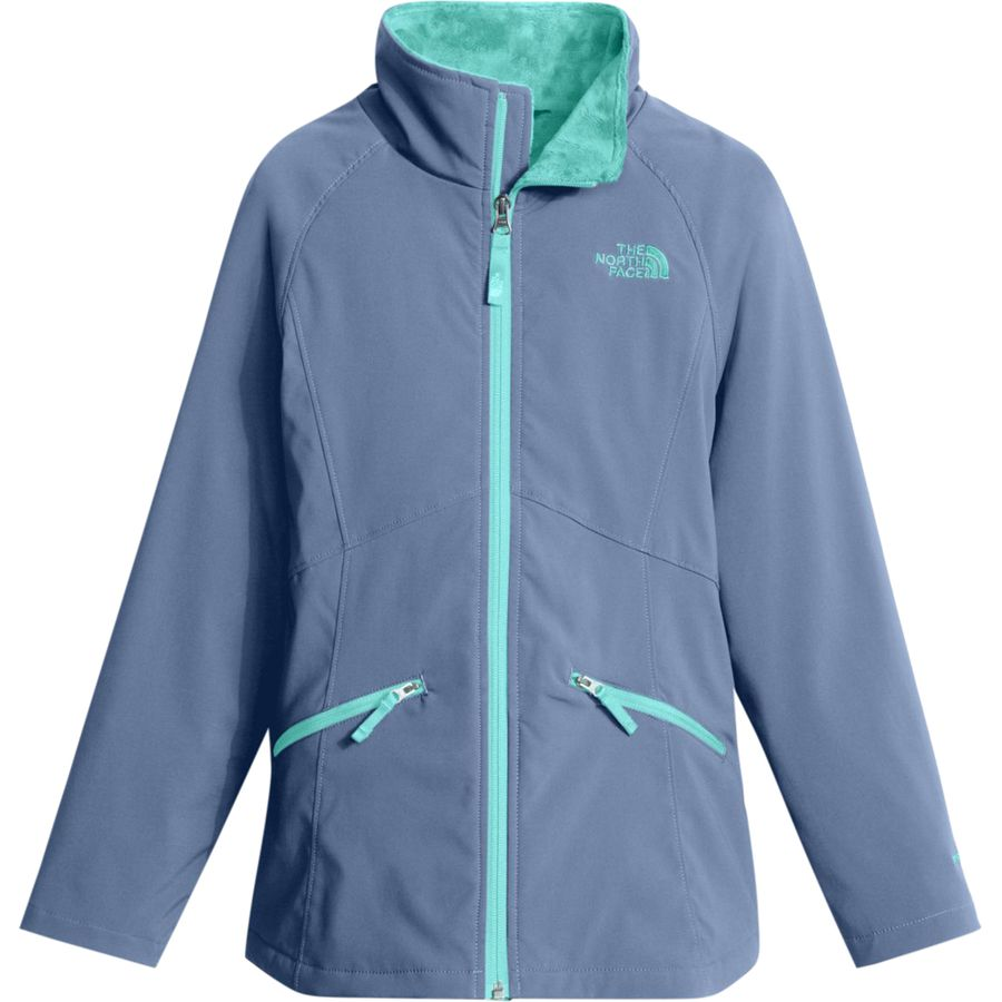 the north face mossbud soft shell jacket girls 39 up to. Black Bedroom Furniture Sets. Home Design Ideas