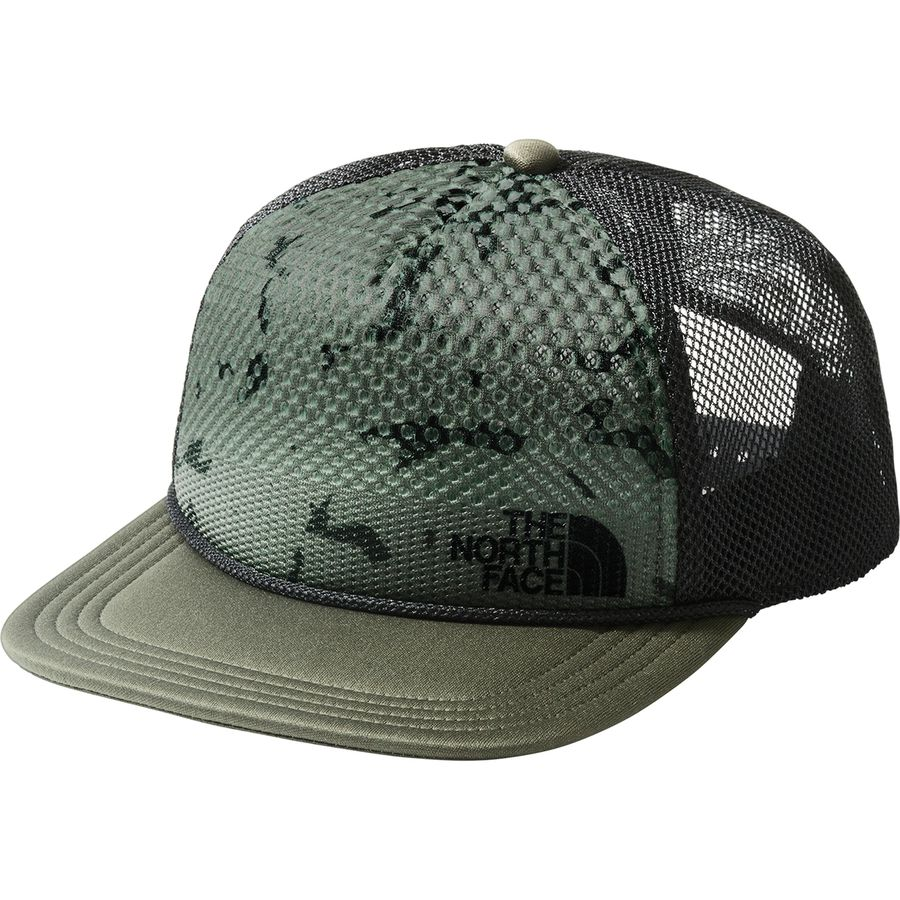 The North Face - Trail Trucker Hat - New Taupe Green Lost In Space Print 4c2354ef7dc