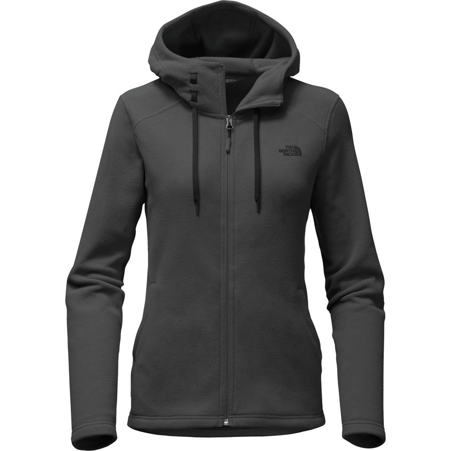 The North Face Mezzaluna Hooded Fleece Jacket - Women's ...