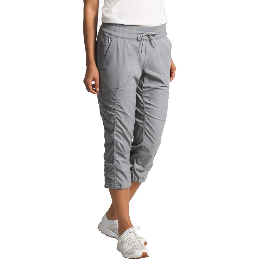 5a4461572d The North Face - Aphrodite 2.0 Capri Pant - Women's - Tnf Medium Grey  Heather