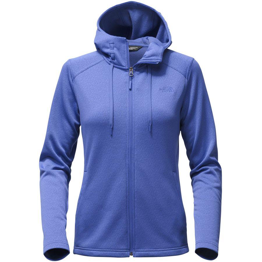 The North Face Novelty Mezzaluna Hooded Fleece Jacket - Womens