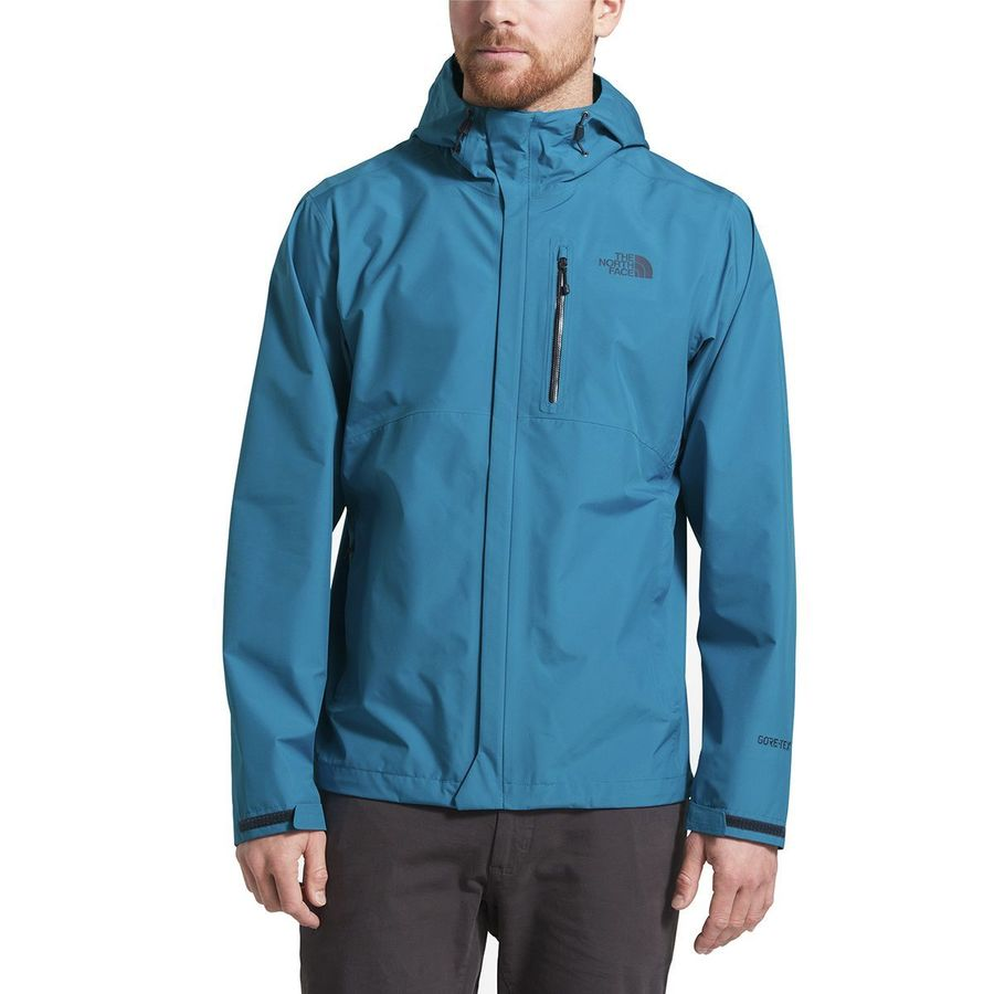 7dd95e5cce3d The North Face - Dryzzle Hooded Jacket - Men s - Heron Blue