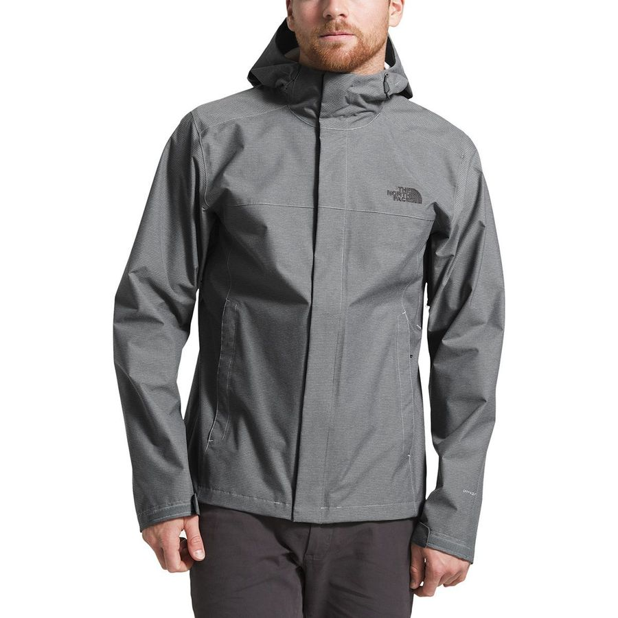 THE NORTH FACE VENTURE JACKET WOMENS 1197 TNF BLACK / HEATHER