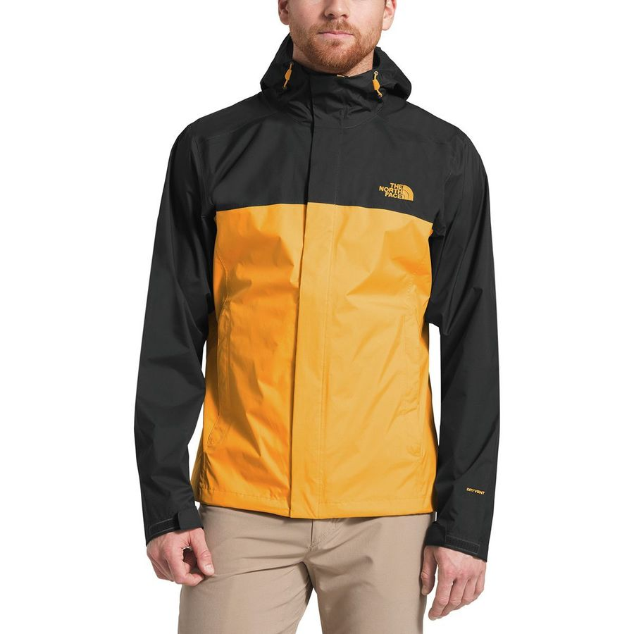 00bebdc06a16 The North Face - Venture 2 Hooded Jacket - Men s - Zinnia Orange Asphalt  Grey