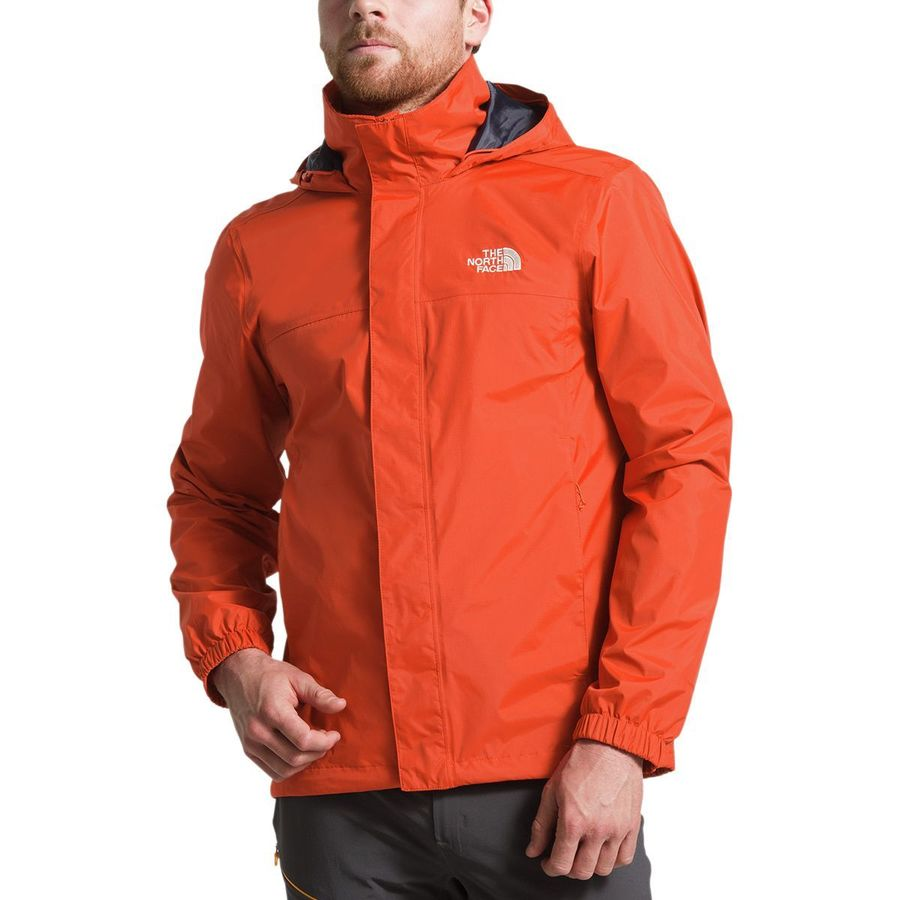 The North Face - Resolve 2 Hooded Jacket - Men s - Zion Orange ced6fac9d