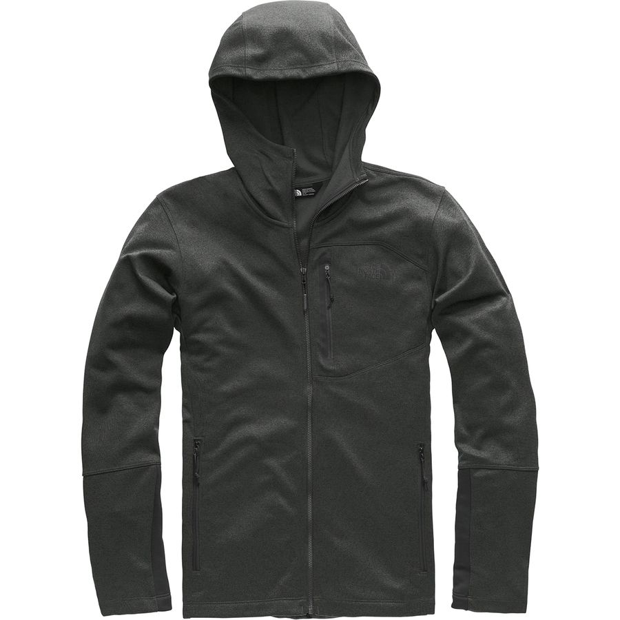 e2df9b083814 The North Face - Canyonlands Hooded Fleece Jacket - Men s - Tnf Dark Grey  Heather