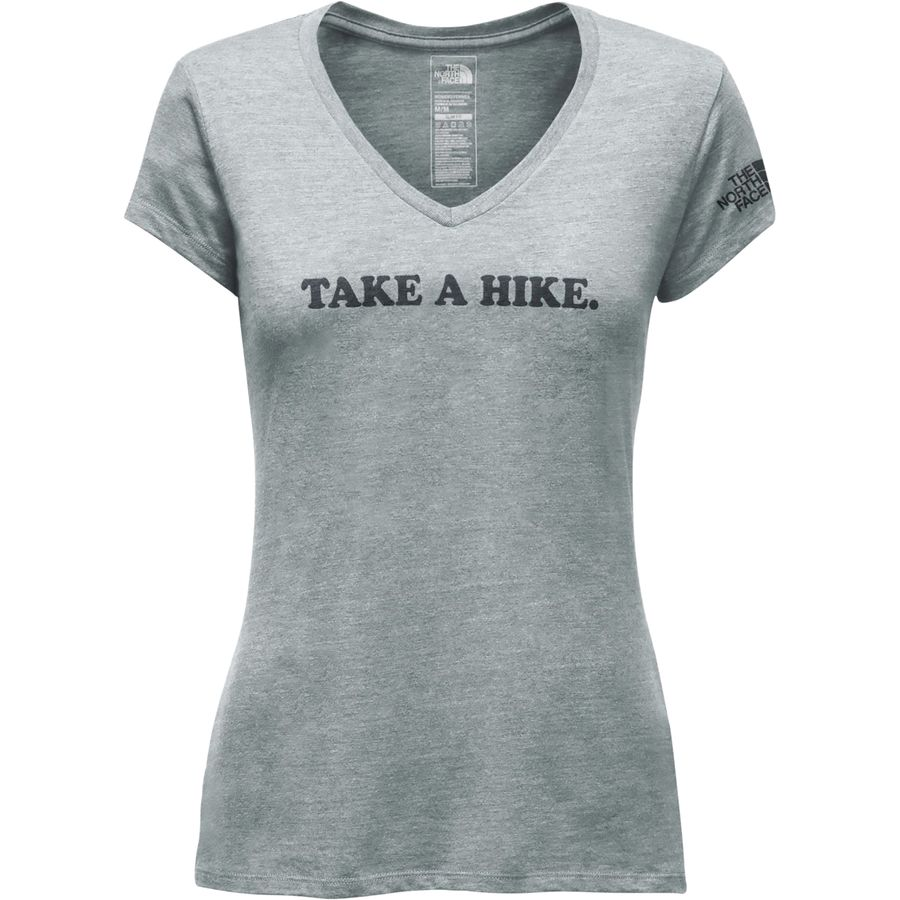 The North Face Take A Hike V-Neck Tri-Blend T-Shirt - Womens