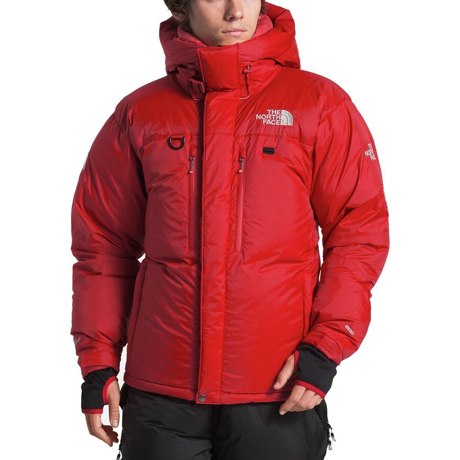 6dba682e34 The North Face - Himalayan Down Parka - Men s - Tnf Red Tnf Black