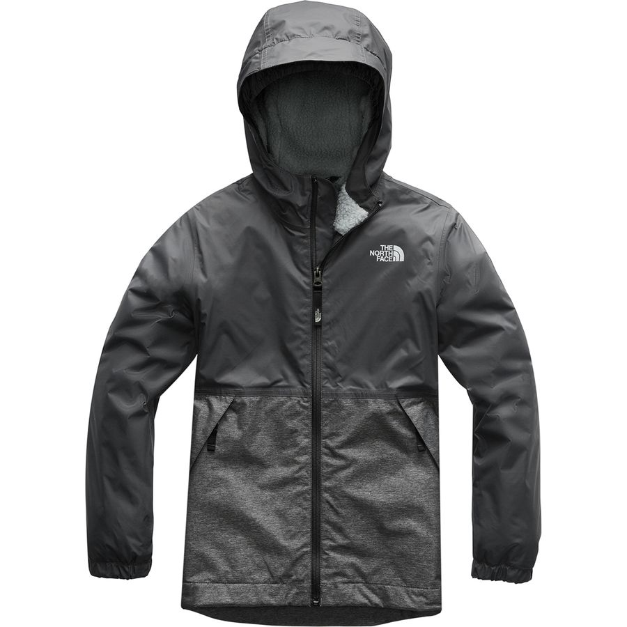24db76003536 The North Face - Warm Storm Hooded Jacket - Boys  - Graphite Grey