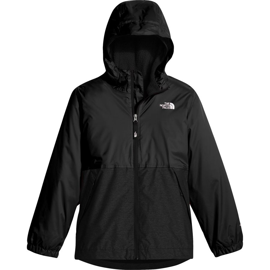 the north face warm storm hooded jacket