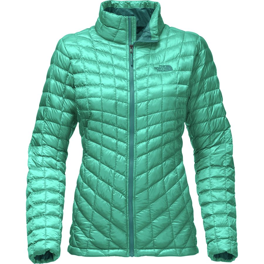 The North Face - ThermoBall Insulated Jacket - Women s - Pool Green 60edb9cfb1