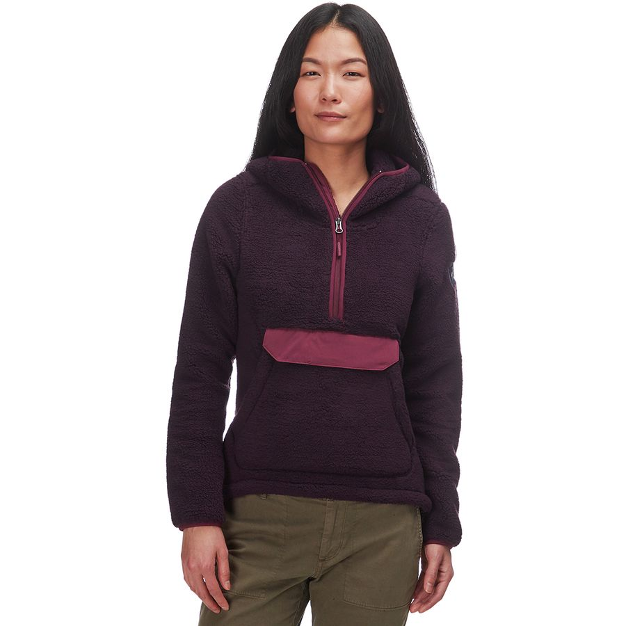 f3f5e609ee The North Face - Campshire Hooded Pullover Fleece Jacket - Women s - Galaxy  Purple