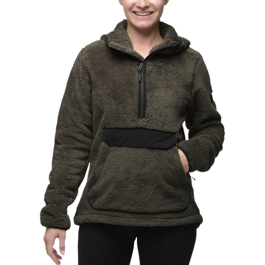 The North Face Campshire Hooded Pullover Fleece Jacket - Women's ...