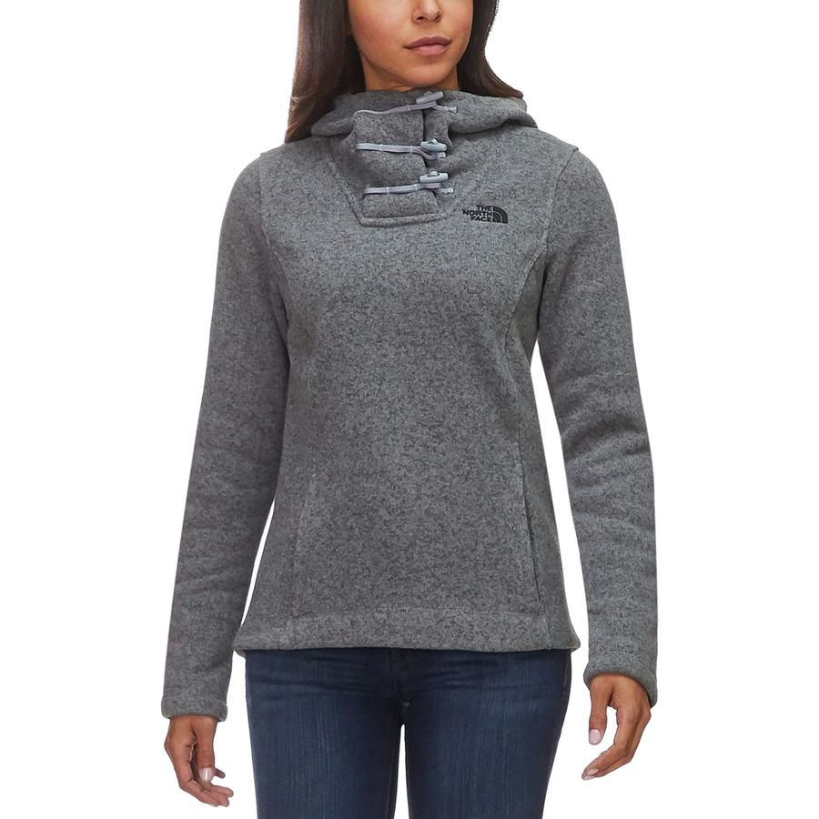 2b187cbe303e The North Face - Crescent Pullover Hoodie - Women s - Tnf Medium Grey  Heather