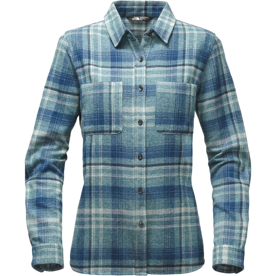 The North Face Willow Creek Flannel Shirt - Long-Sleeve - Womens