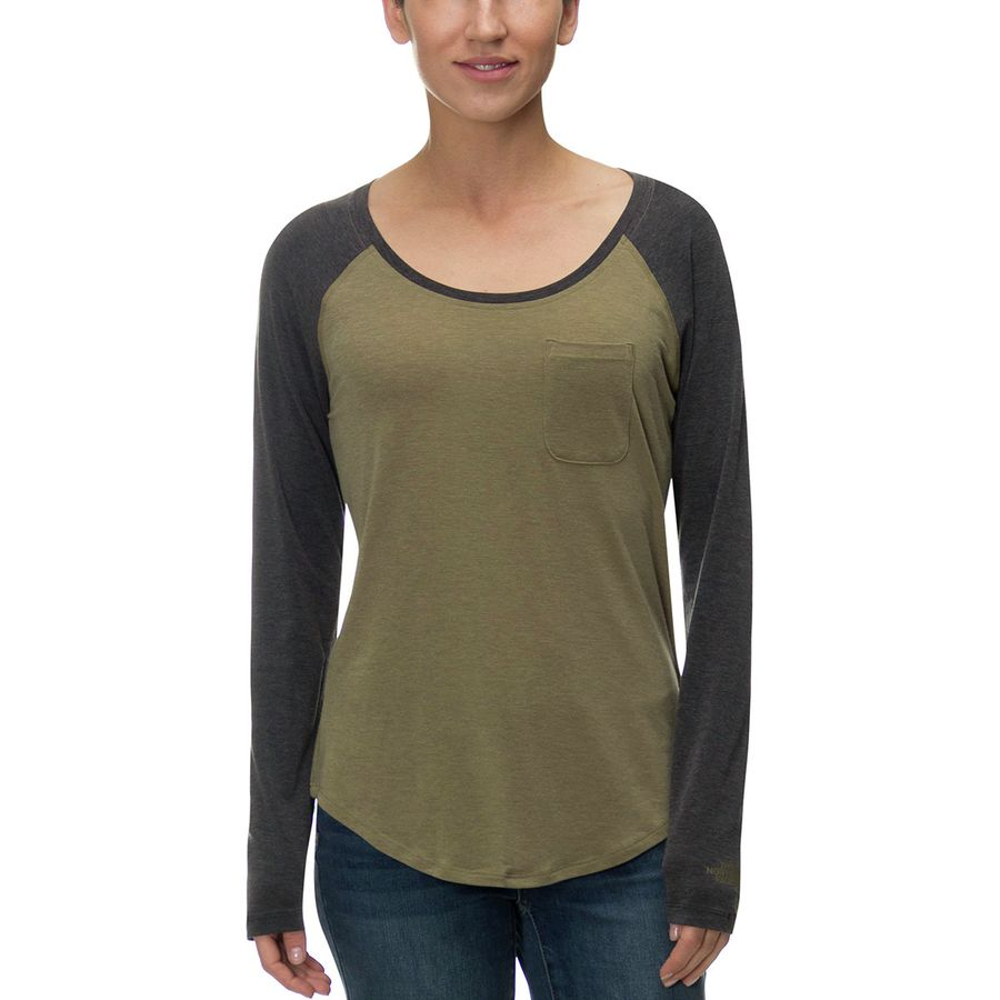 The North Face In-A-Flash Raglan T-Shirt - Long-Sleeve - Womens