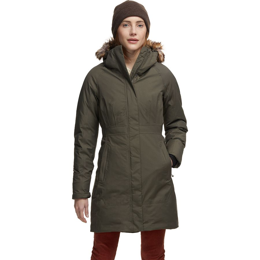 The North Face - Arctic Down Parka II - Women's - New Taupe Green