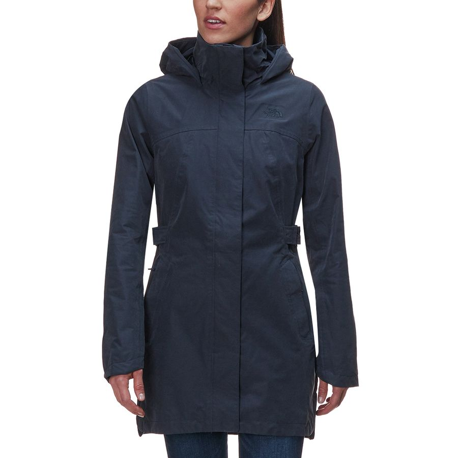The North Face - Laney Trench Coat II - Women s - Urban Navy c61314fe8