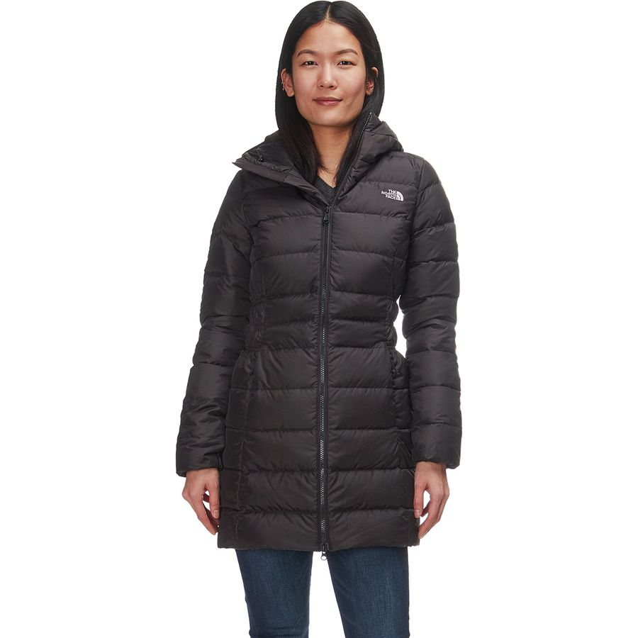 bfa4752bdea6 The North Face - Gotham II Hooded Down Parka - Women s - Tnf Black