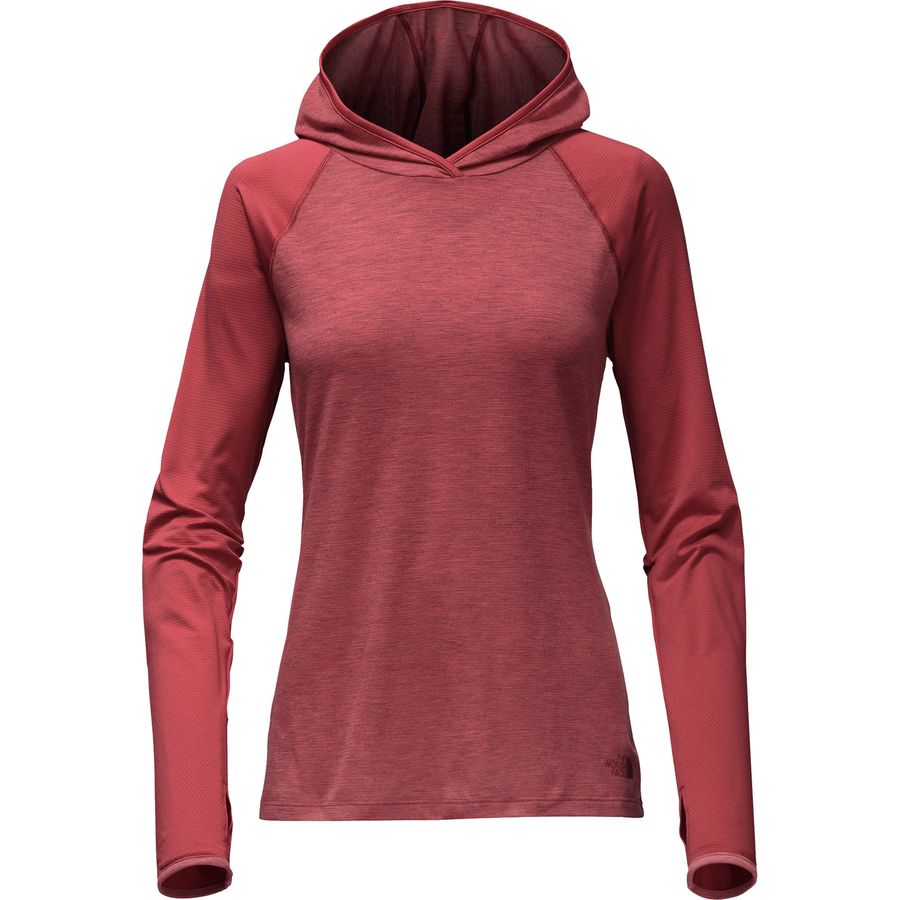 The North Face Reactor Hooded Long-Sleeve Top - Womens