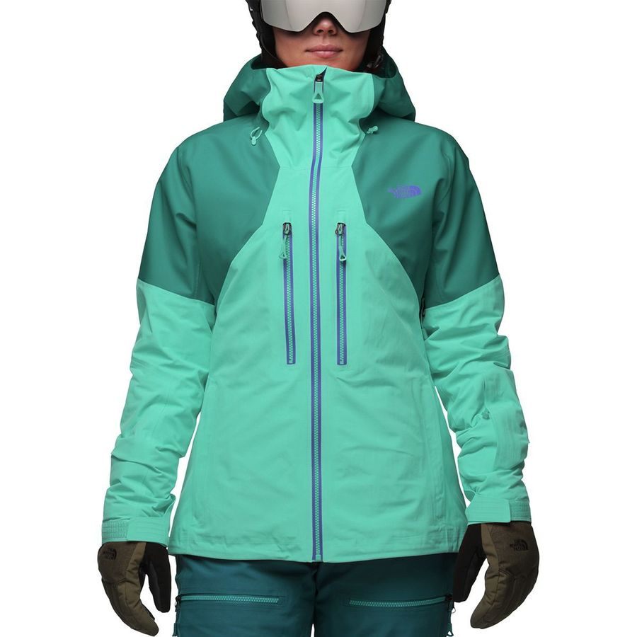 e8d50d685ab3 The North Face - Powder Guide Hooded Jacket - Women s - Vistula Blue Harbor  Blue