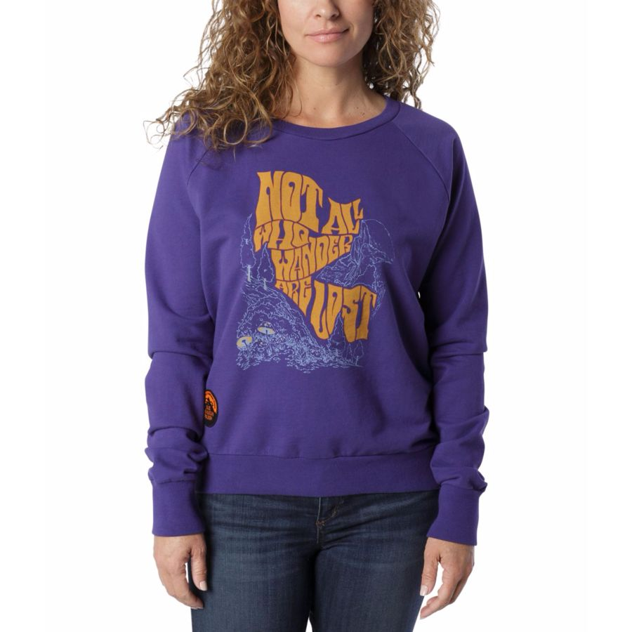 The North Face Cali Roots Crew Neck Pullover Sweatshirt - Womens